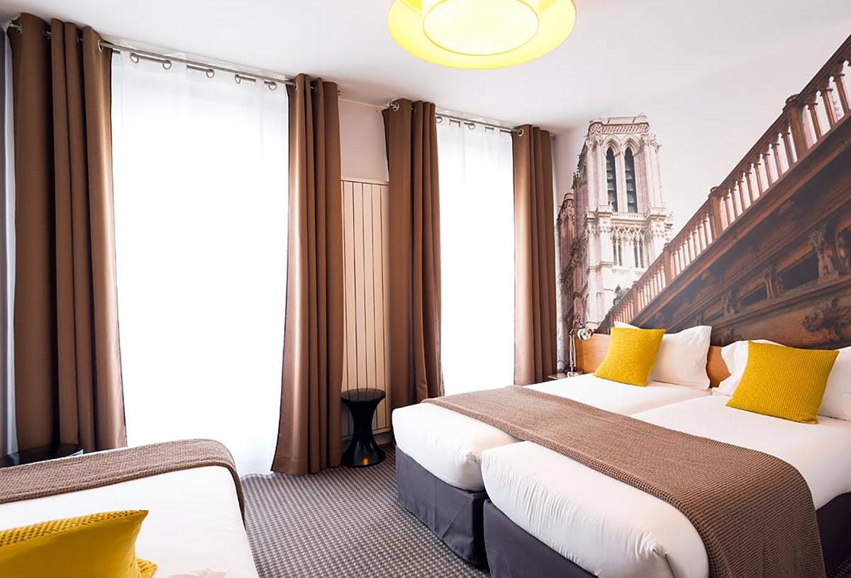 Paris shopping-France-Le 20 Prieure Hotel