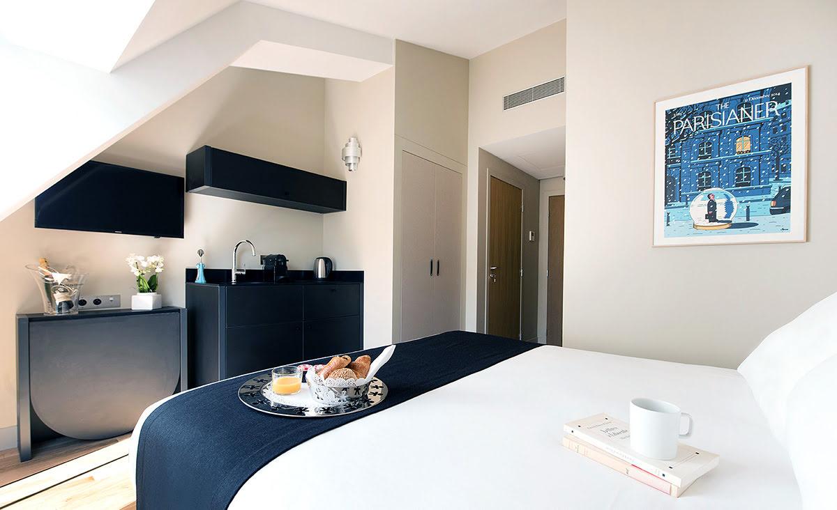 Paris shopping-France-Suites & Hotel Helzear Etoile