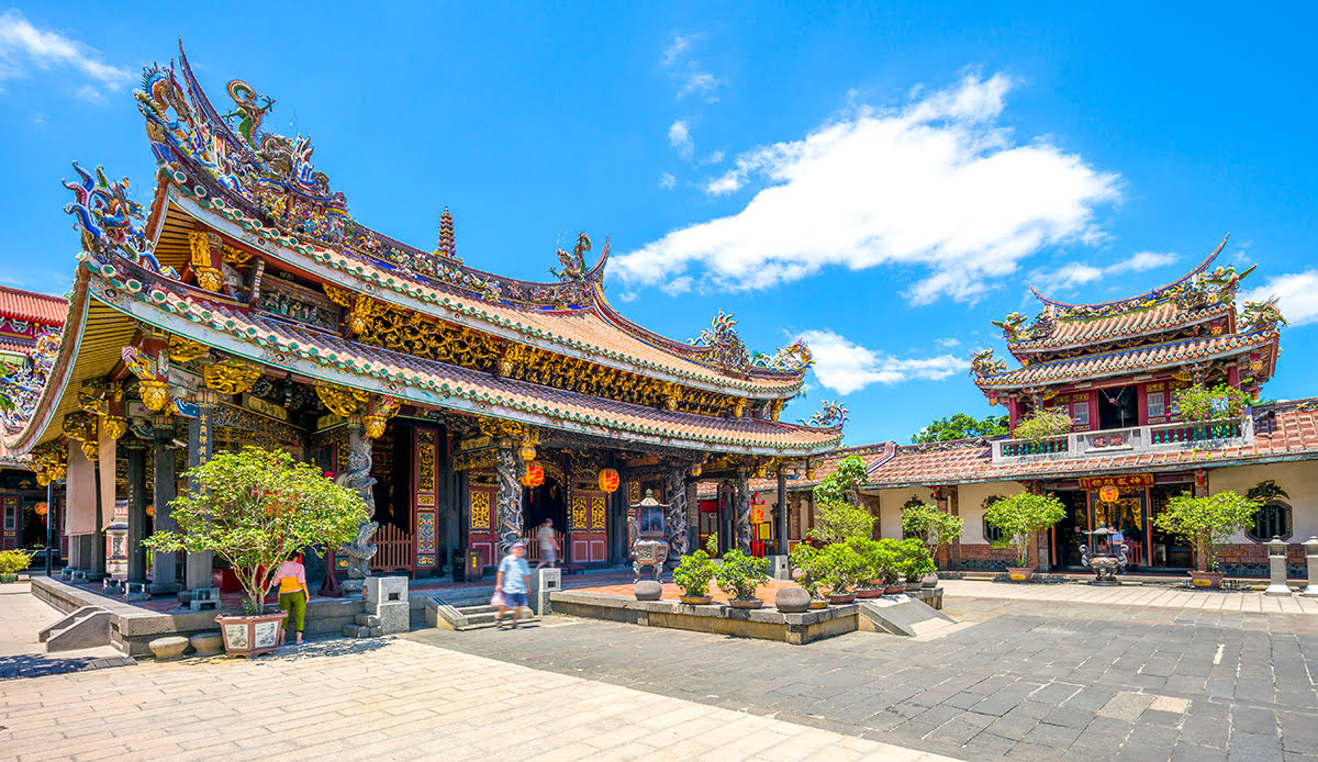 Where to stay in Taipei-Taiwan-historic Datong District