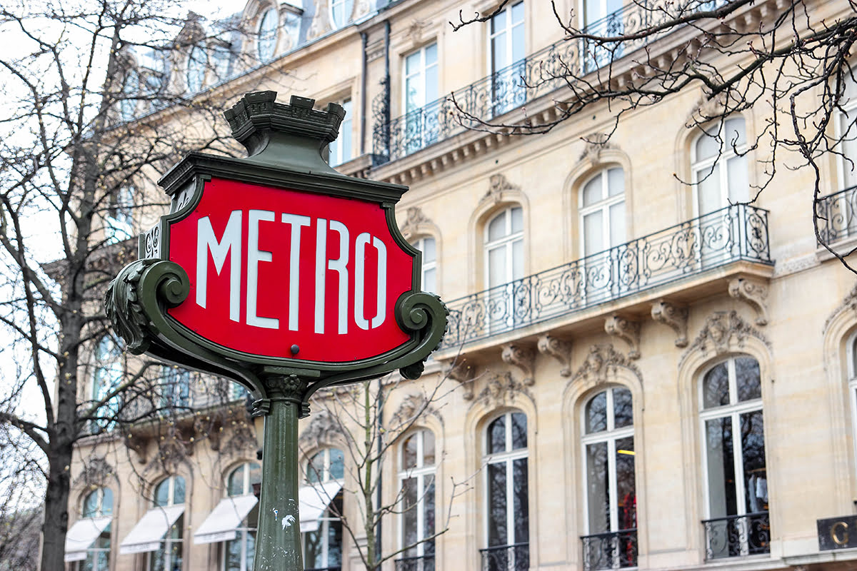 Day trips from Paris-France-travel-metro