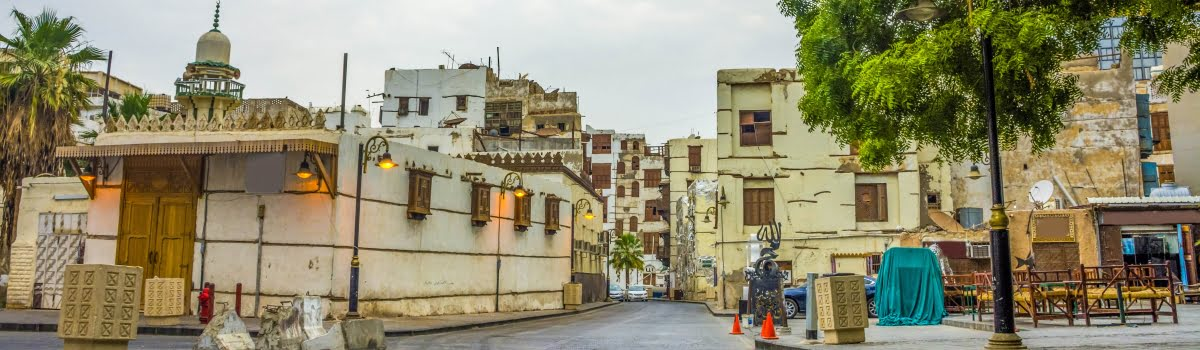Jeddah landmarks-Featured photo (1200x350) Old streets in Al Balad, Jeddah