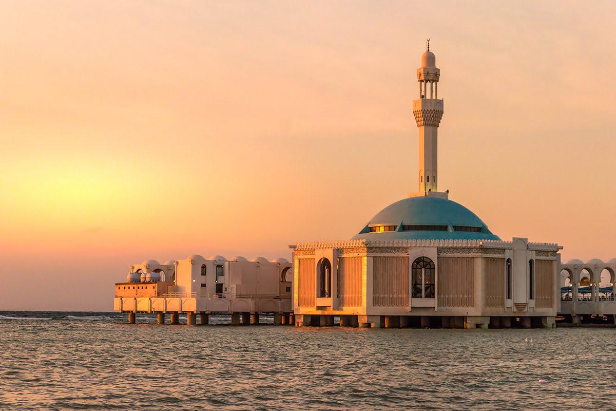 吉達旅行小叮嚀-水上清真寺