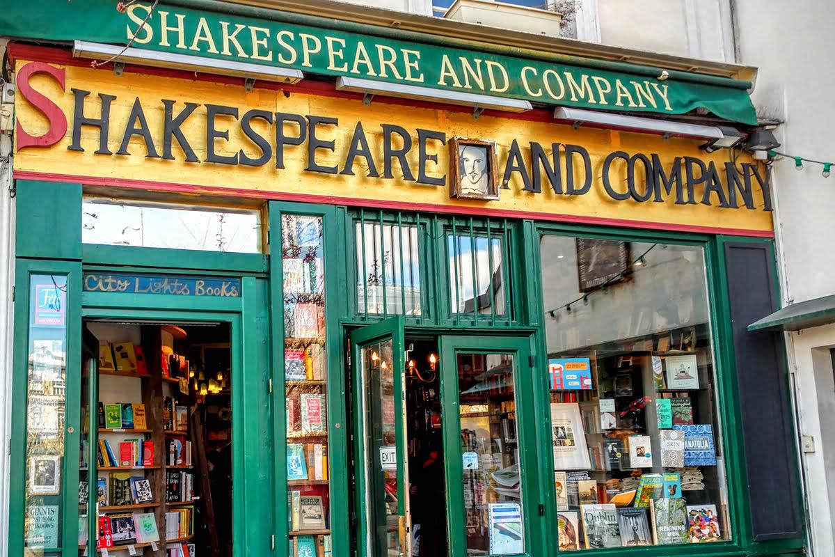 Latin Quarter-Paris-bookshops