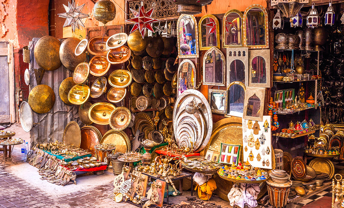 Things to do in Marrakech-Morocco-the souks of Marrakech-shopping