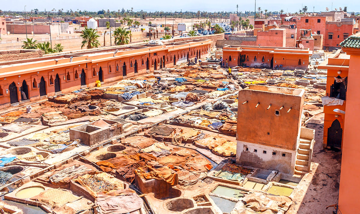 Things to do in Marrakech-Morocco-Bab Debbagh-Marrakech tanneries tour