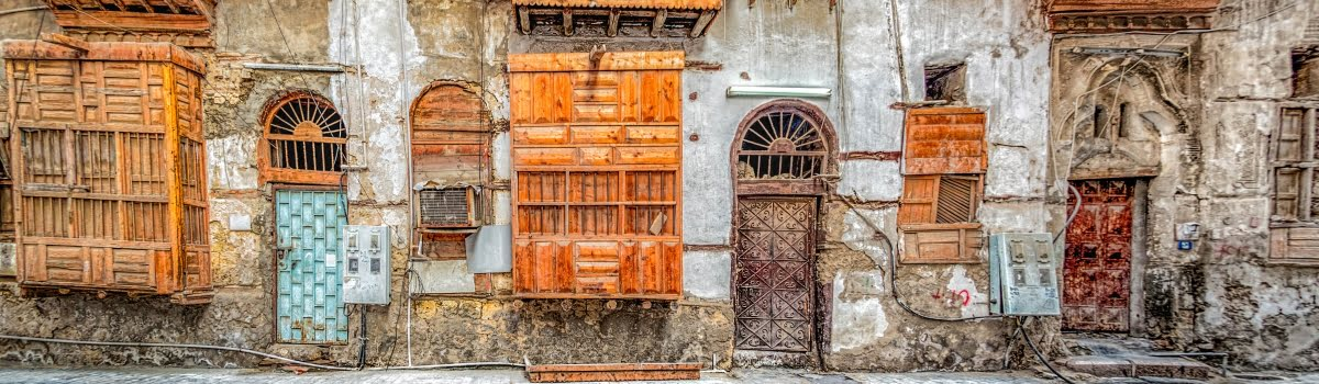 Where to stay in Jeddah-Featured photo (1200x350) Old buildings in Balad, Jeddah