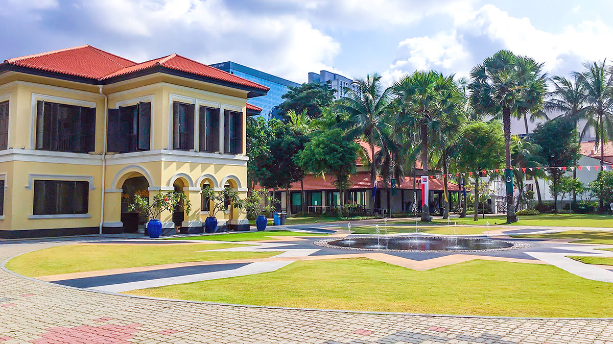 Places to visit in Singapore-Istana Kampong Glam