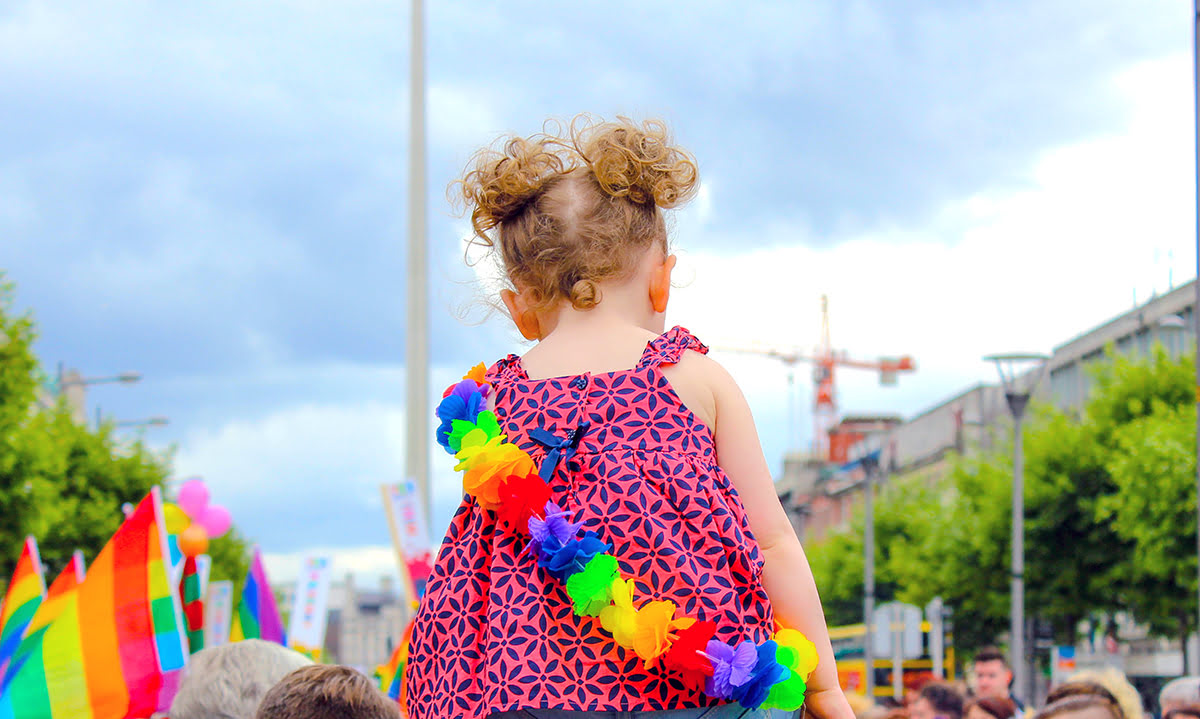 Pride parades 2019-marches-Dublin-St Stephen's Green