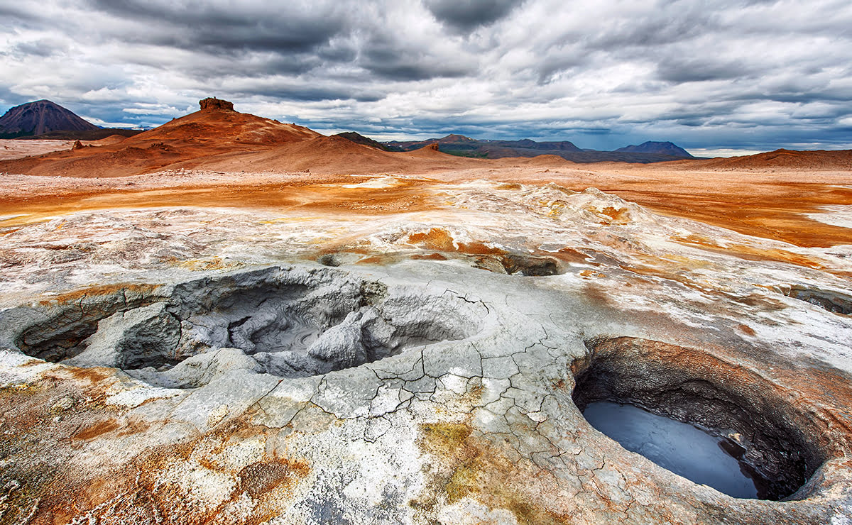 Best road trip destinations-The Ring Road-Iceland-Myvatn Geothermal Area