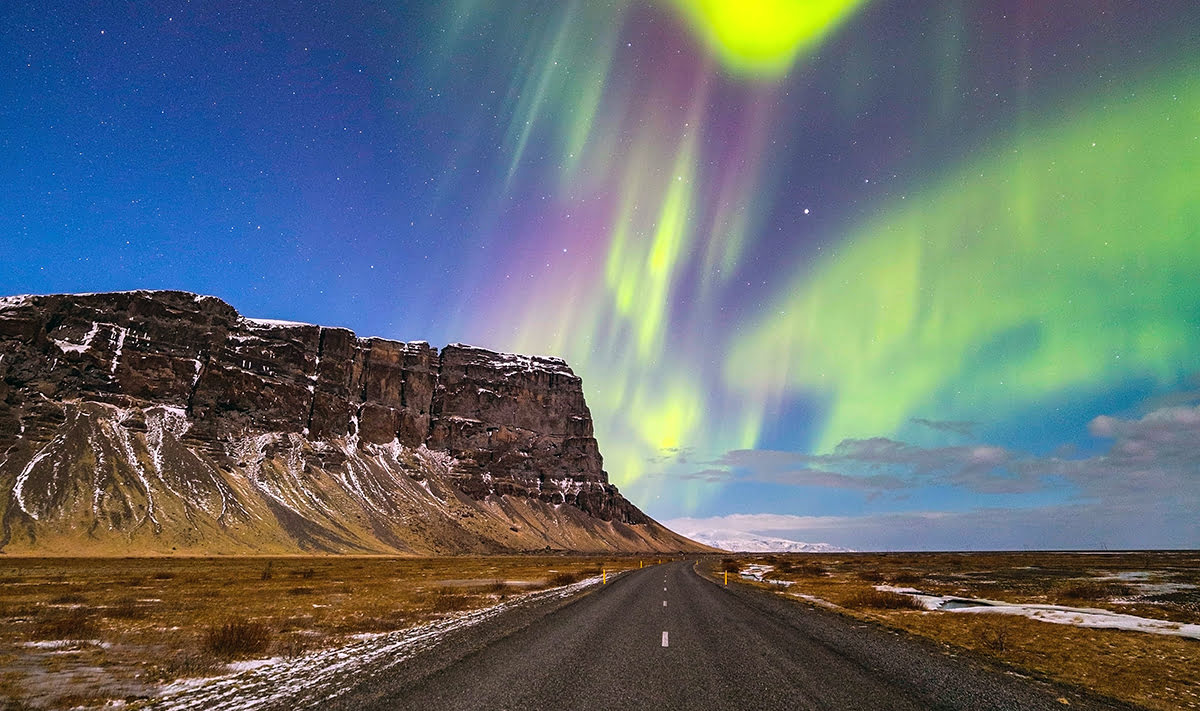 Best road trip destinations-The Ring Road-Iceland-Northern Lights
