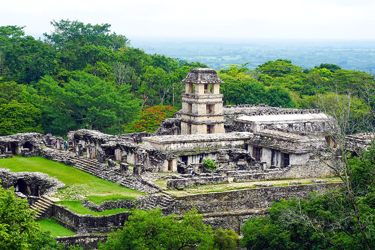 Mexico vacations-National Park of Palenque