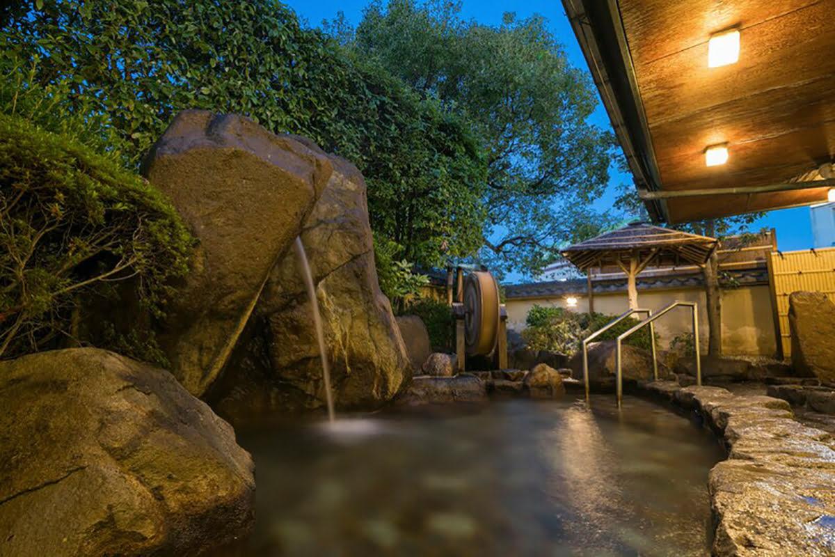 Nara onsen-Japanese bath-Nara Park Hotel