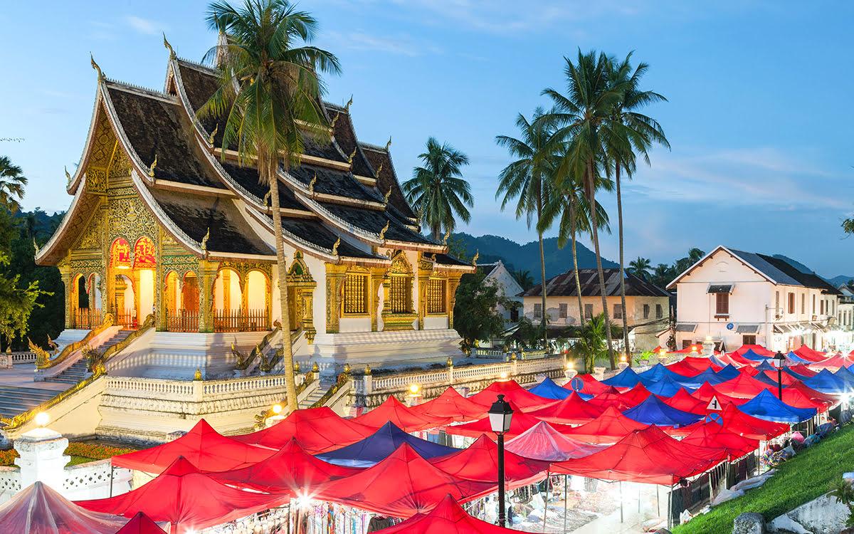 Things to do in Luang Prabang-Laos-Night Market-Morning Market