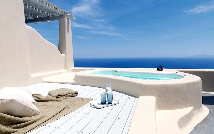 Hotels near vineyards-wine tasting tour-Dome Santorini Resort