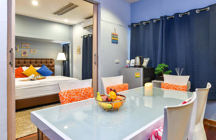 Bangkok holiday homes-BTS stations-where to stay-Thailand-Thoonglor9-2Br.Private Homestay@Bts Thonglor-Wifi