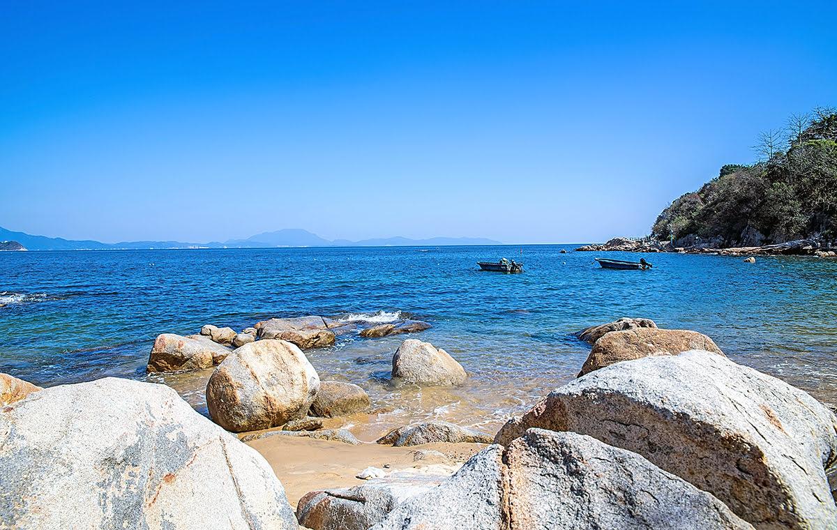 Things to do in Shenzhen-China-Dameisha Seaside Park-Xiaomeisha Beach