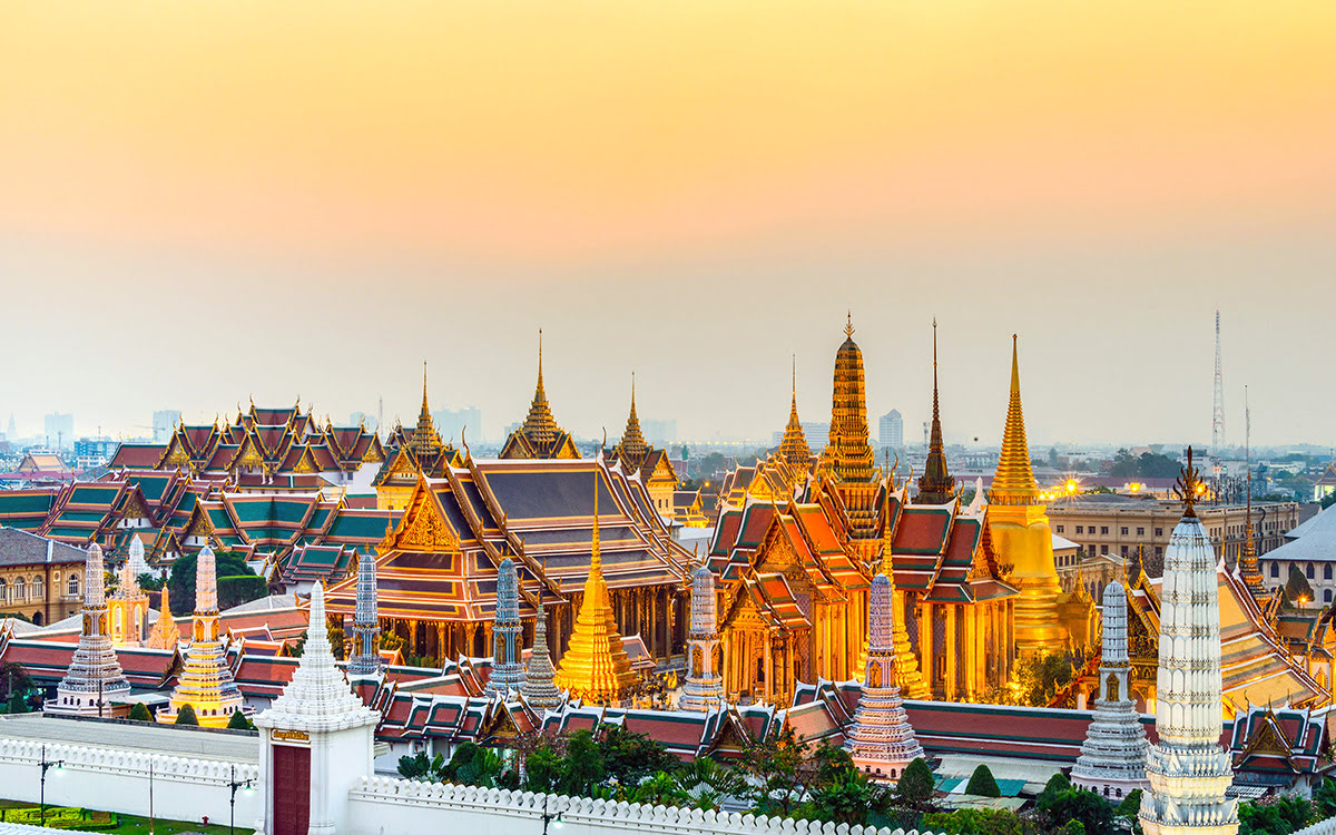 Du lịch Băng Cốc-Thái Lan-Hoàng Cung