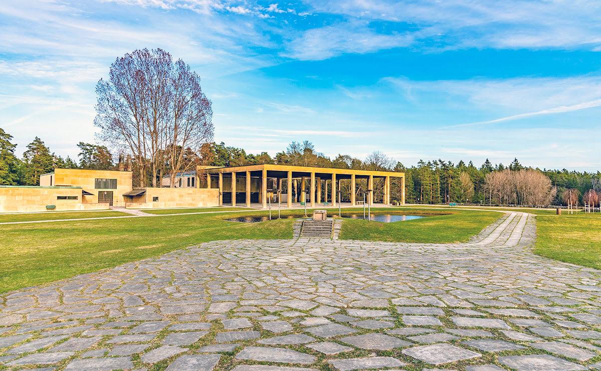 Swedish architecture-Sweden-The Woodland Cemetery-Skogskyrkogården