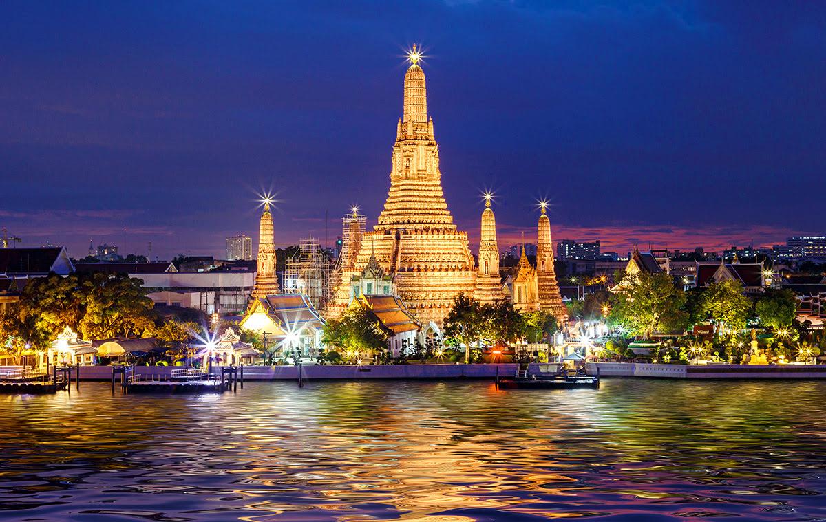 Du lịch Băng Cốc-Thái Lan-Wat Arun