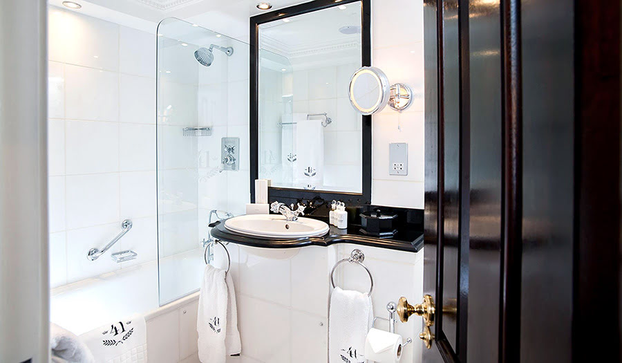 Hotels with black and white themes-41 Hotel-London-UK