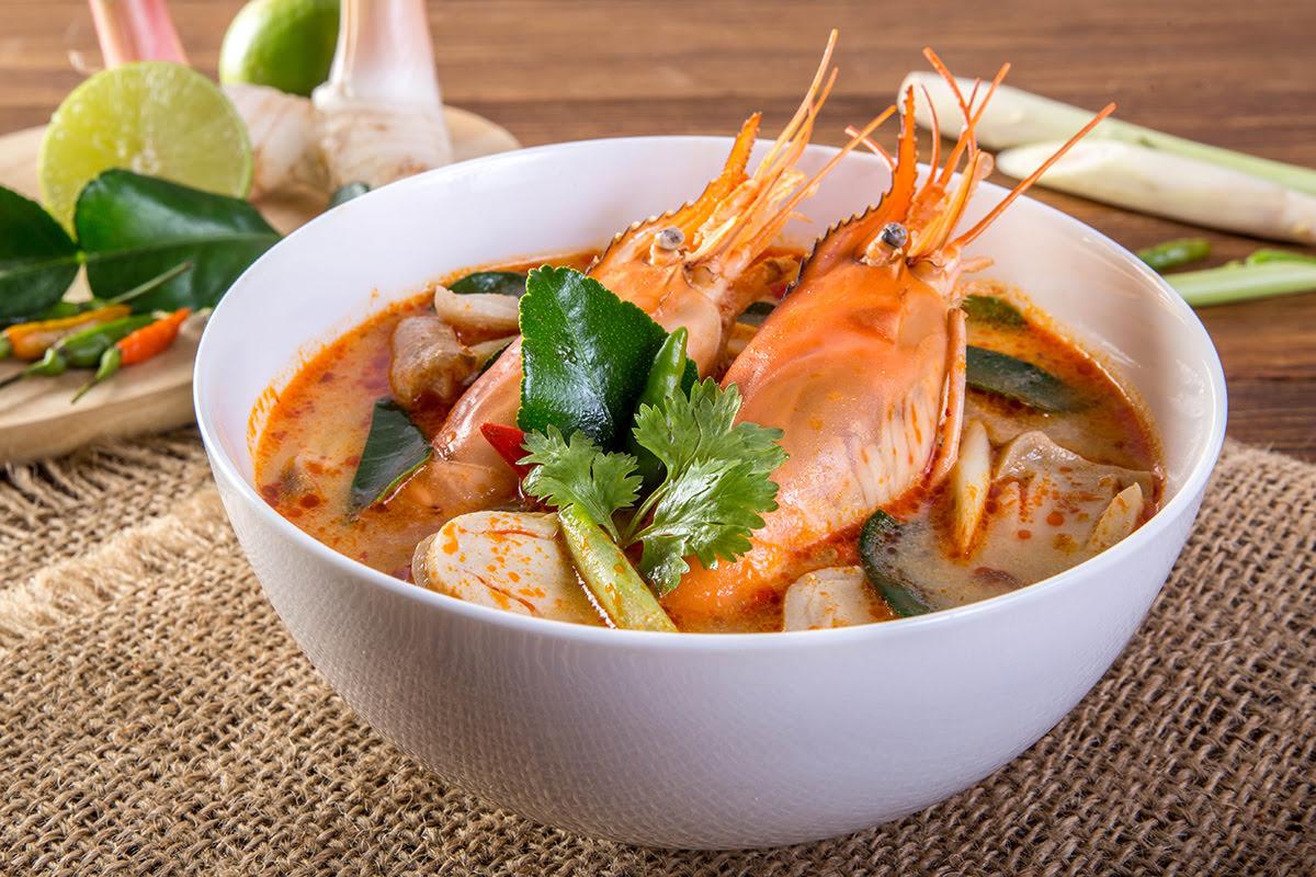Bangkok food-Tom Yum Kung