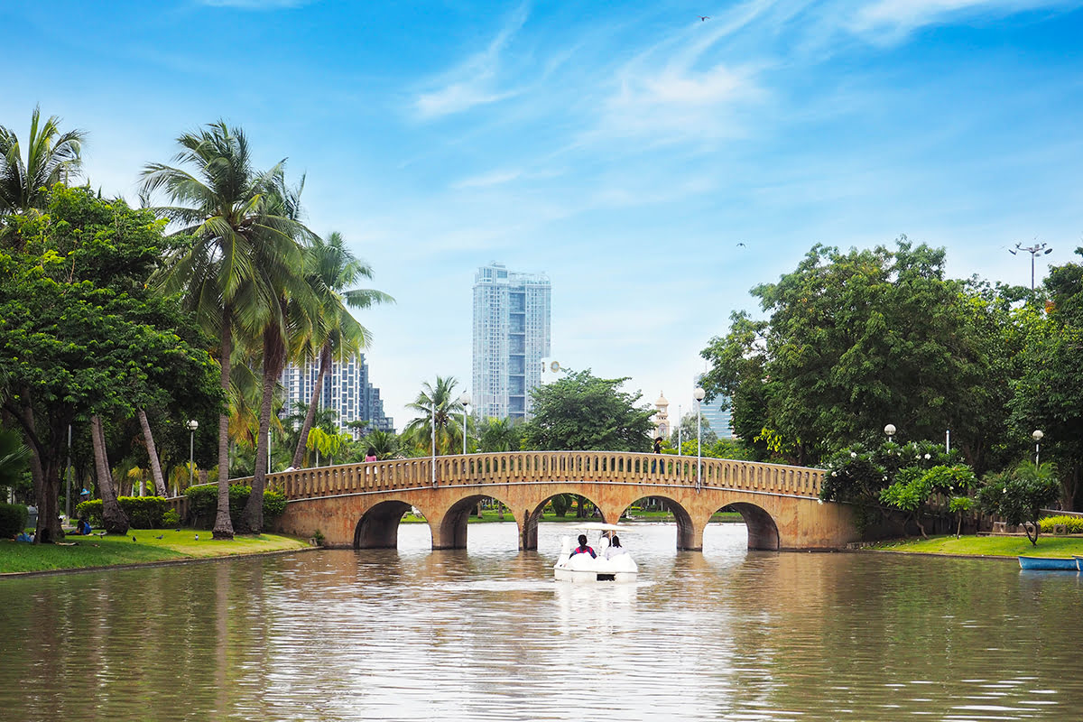 Chatuchak market-Bangkok-Chatuchak Park