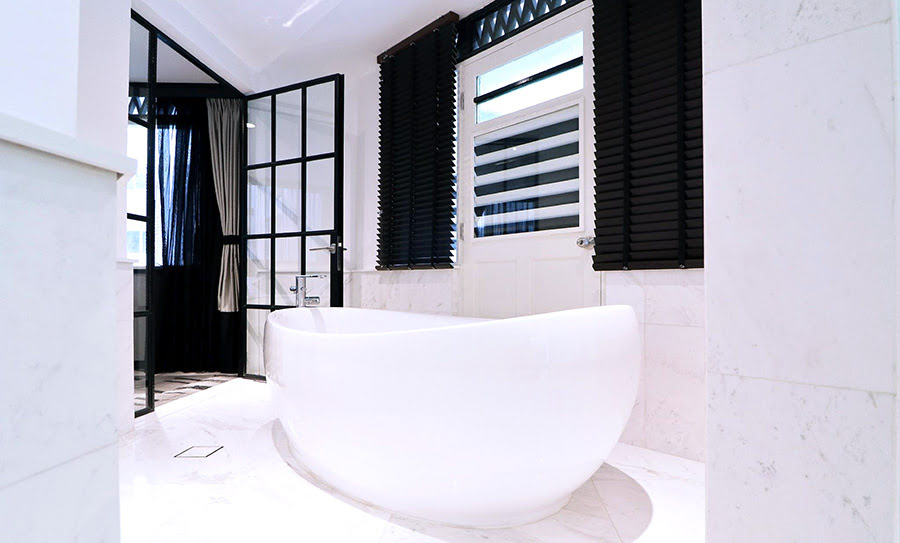 Hotels with black and white themes-Hotel NuVe Urbane Lavender-Singapore
