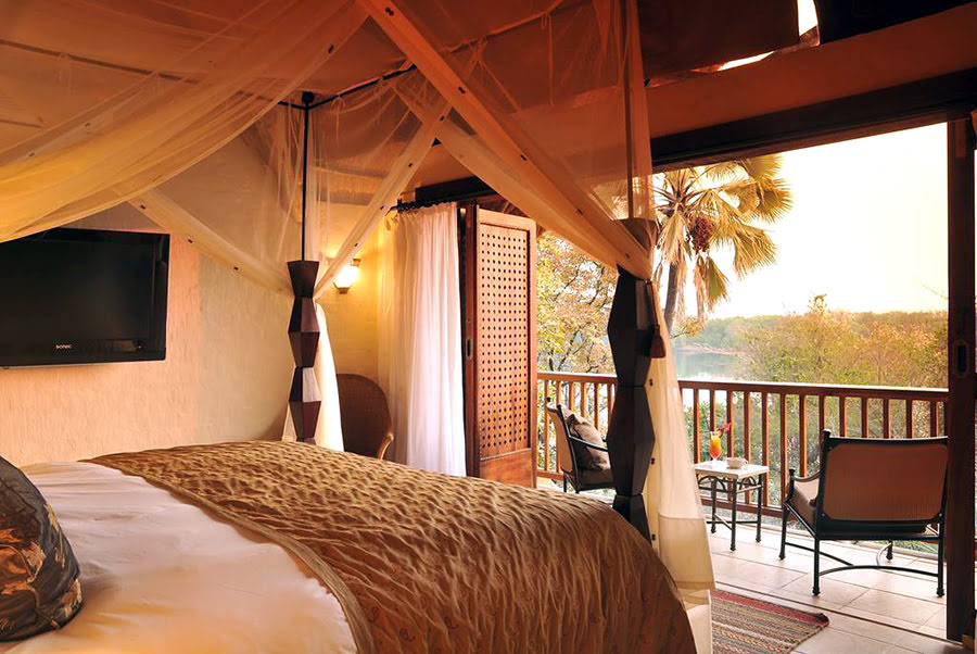 Hotels in Zambia-Africa-places to visit-aha The David Livingstone Safari Lodge & Spa