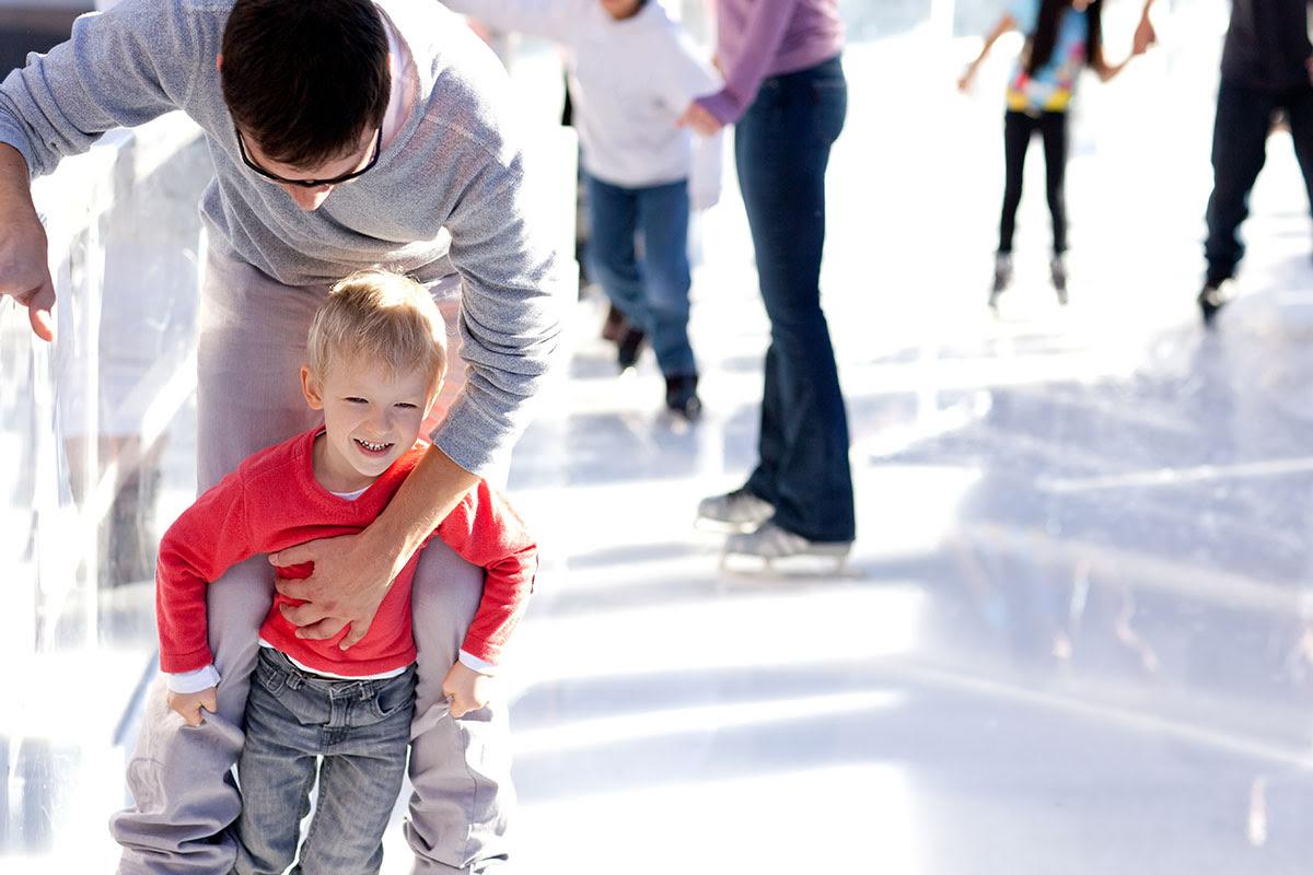 The Dubai Mall-UAE-United Arab Emirates-shopping-ice rink-EKart Zabeel