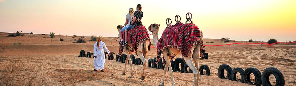 Featured photo-camel ride-Desert Safari Dubai-UAE-United Arab Emirates