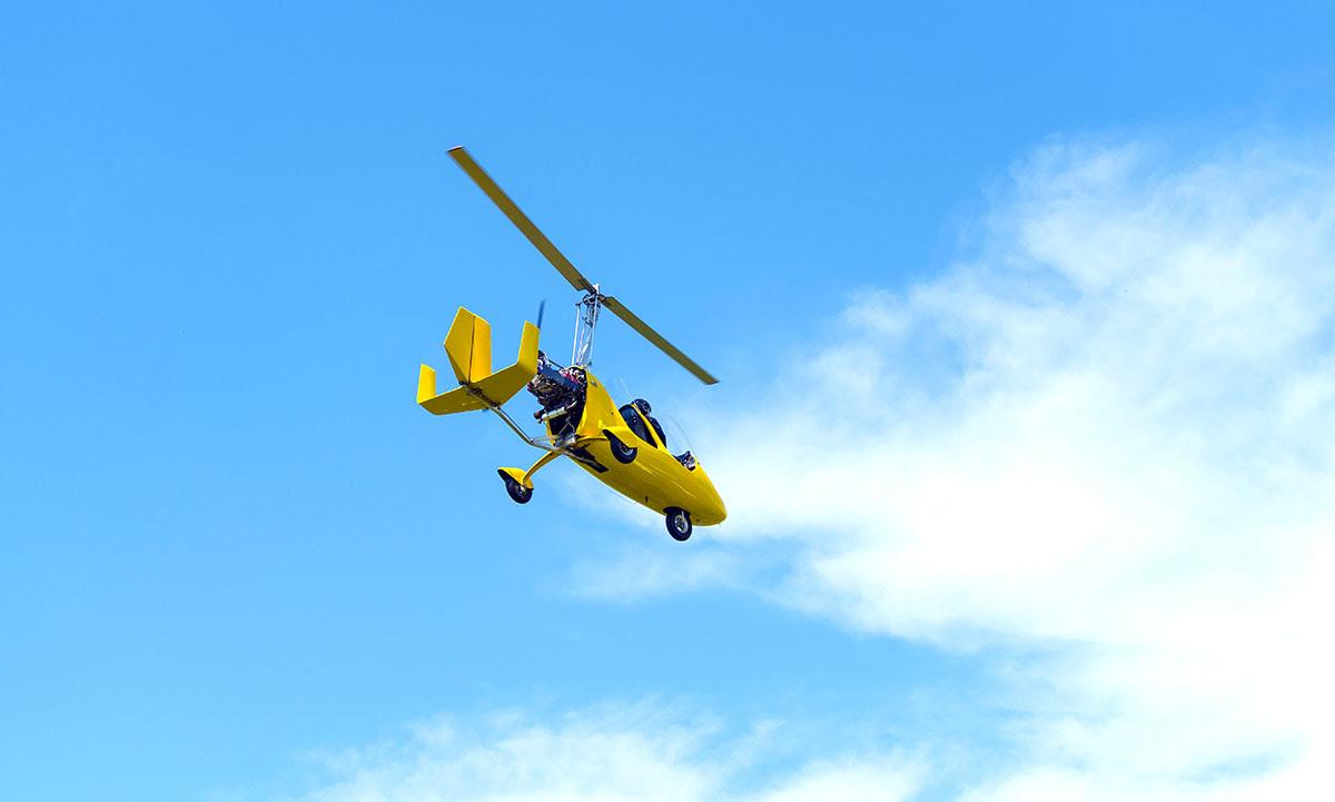 Skydive Dubai-UAE-gyrocopter