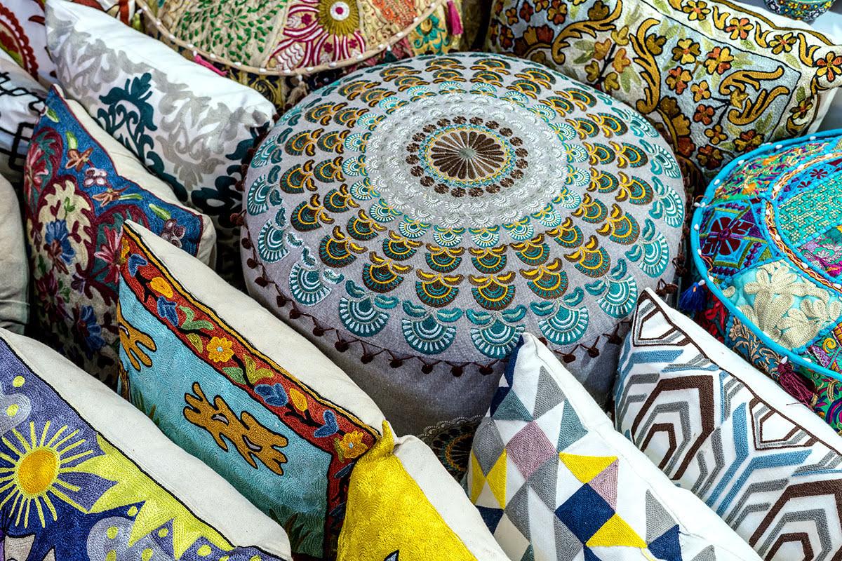 Shopping in Dubai-UAE-Textile Souk Market