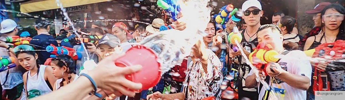 Water festivals in SEA-Featured photo (1200x350) Songkran festival at Khaosan road