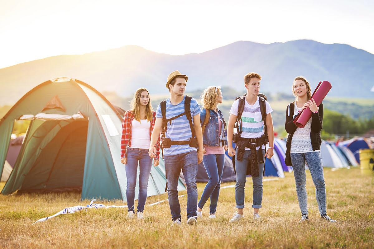 Music Festivals 2020-Camping area
