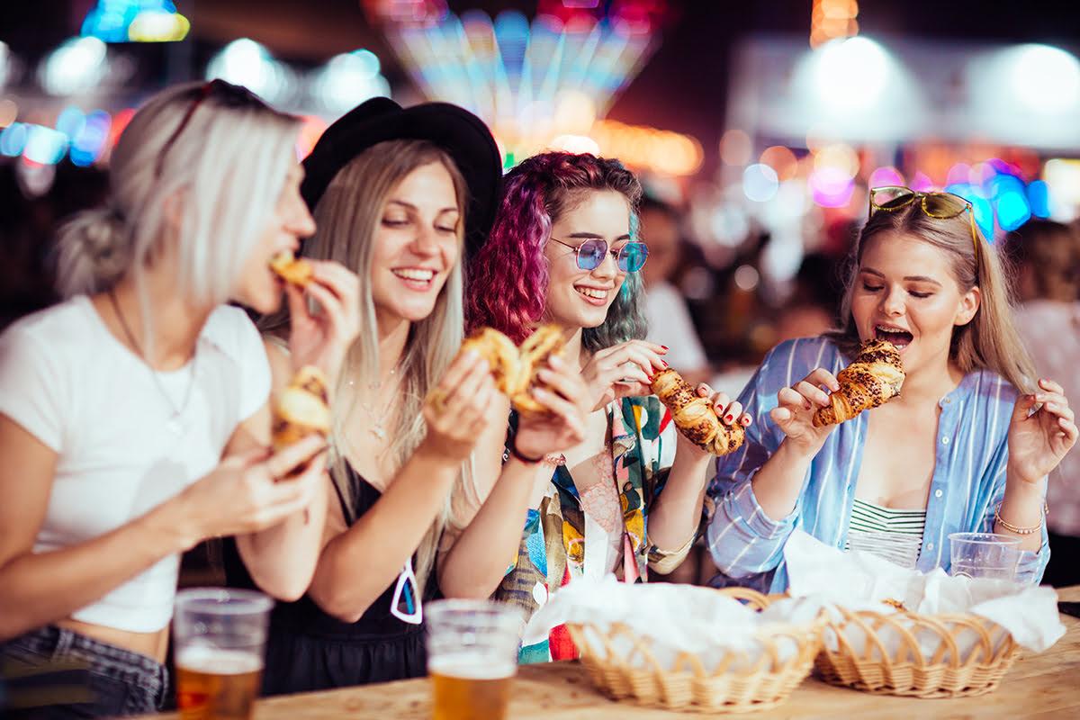 Music Festivals 2020-Food at festivals