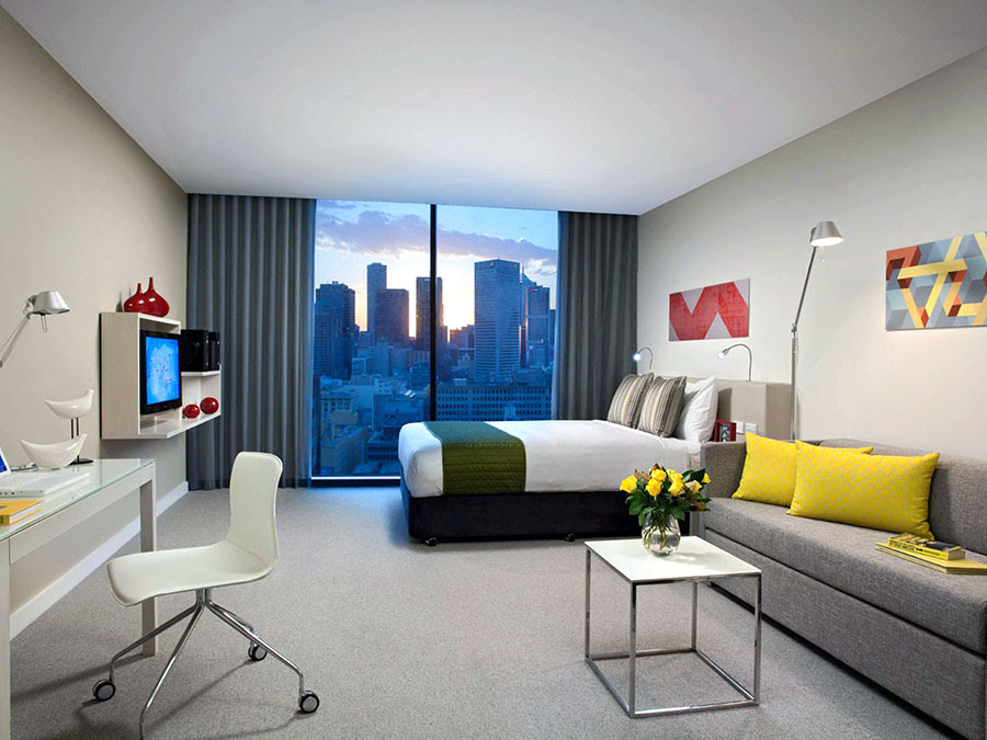 Hotels in Melbourne-things to do-Australia-Citadines on Bourke Melbourne