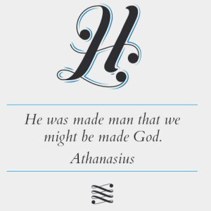 God became man to make man God in life and nature but not in the Godhead