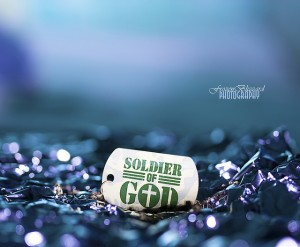 being a good soldier of Christ Jesus and an athlete contending in the games [picture: Soldier of God]