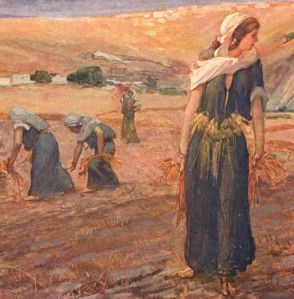 women in the Old Testament typifying the church as Christ's counterpart