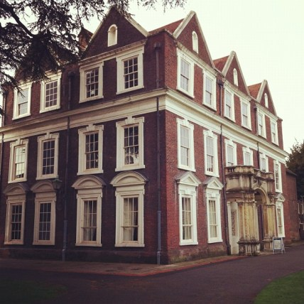 seeing a vision of God's building and caring FIRST for the Father's House [in the picture: Boston Manor House in Brentford, London]