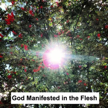 The Church is the Pillar and Base of the Truth, God Manifested in the Flesh