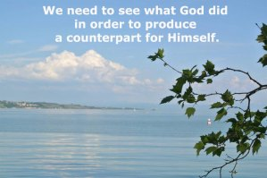 Seeing what God has Done to Obtain the Church as His Counterpart to Match Him