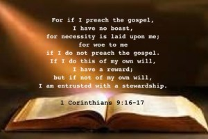Carrying Out the Stewardship of God by Preaching the Gospel and Dispensing Christ