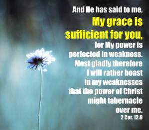 Living by Grace by Having our Natural Strength Dealt with by God through the Cross