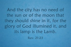 God as Light Shines through the Redeeming Christ as the Lamp to Dispense God into us