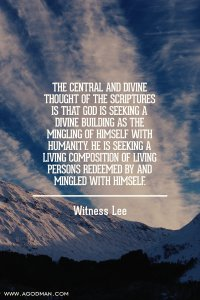 The Central Vision of the Bible: the Increase of the Triune God is for God's Building
