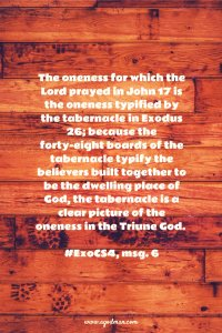 The Oneness of the Body of Christ is the Enlarged Oneness of the Divine Trinity