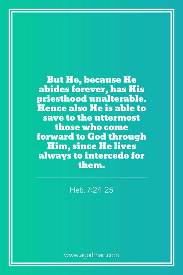 christ in his heavenly ministry is the divine high priest saving us to his perfection saved to the uttermost archives   a god man in christ  rh   agodman
