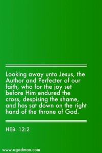 Contacting the Living Lord to be Infused with Him as Faith and be Perfected in Faith