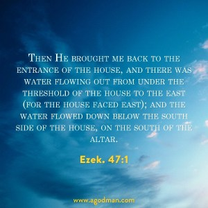 We need to Experience the Flow of Life out from the House of God for God's Ultimate Move